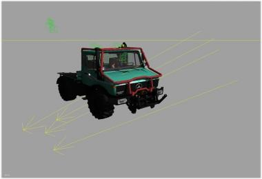 Forestry framework for Unimog U1600 v1.0