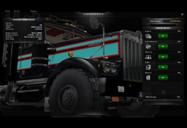 Kenworth W900 KW Customs