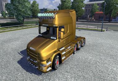 Metallic Paintjobs for Scania T Mod v1.3