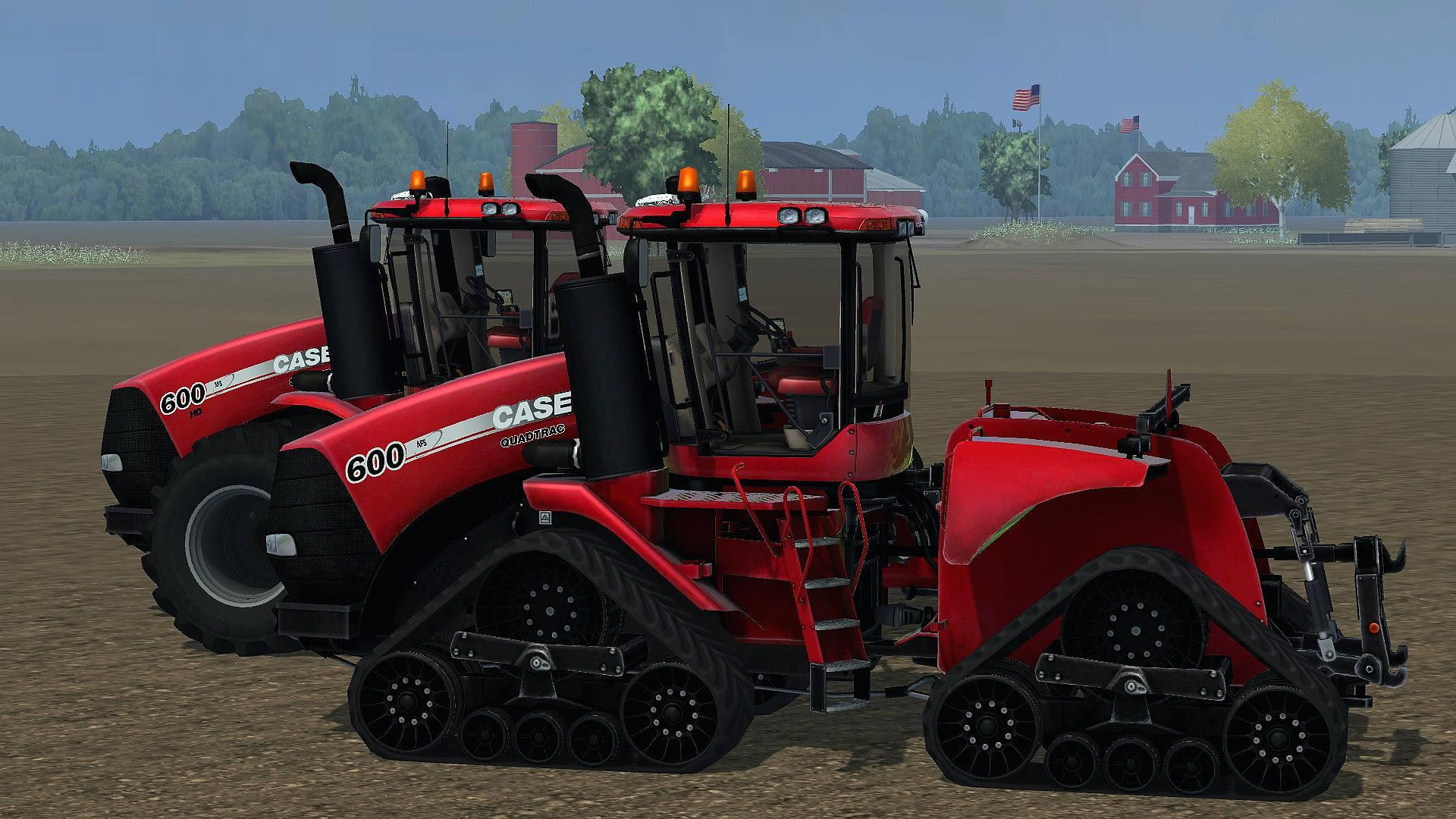 Case Tracked Tractors : Case steiger and quadtrack usa version modhub
