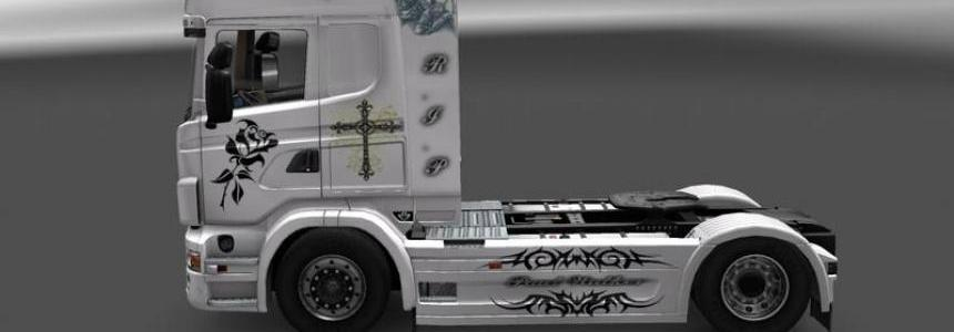 Scania Paul Walker + Trailer v1.0