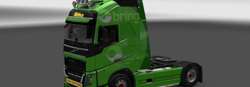 Bring skin for Volvo FH v1.11