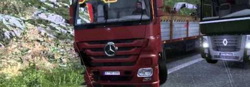 Broken Mercedes