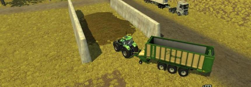 Bunker Silo Placeable v1.0.1