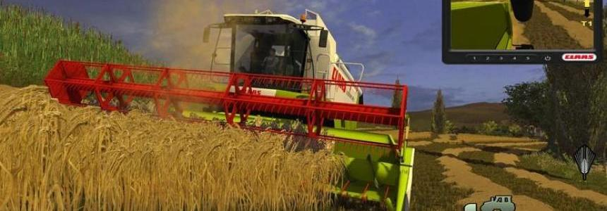 Claas Lexion 550 v1.0 MR