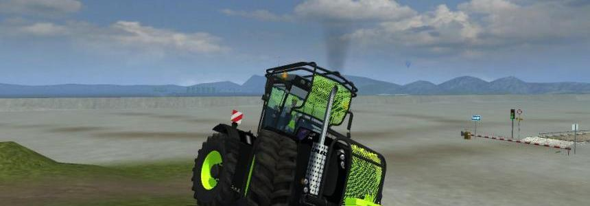 Claas Xerion 5000 Black fluo fores dirt v2.0