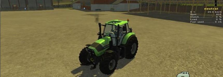 Deutz Fahr 6190 Power Shift v1.0 MR