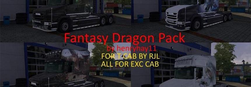 Dragon Fantasy Pack for RJL T Cab