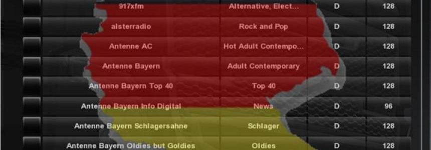 Germany 190 radio streams v1.0