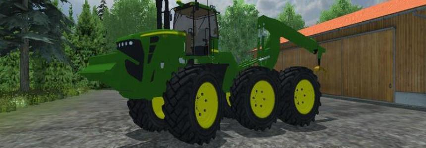 John deere 9630 forestry v1.0 Beta