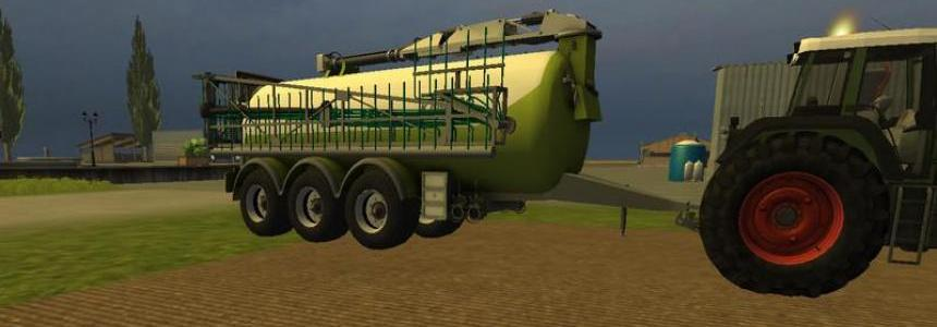 Kaweco slurry tanker with trailing hose v1.0