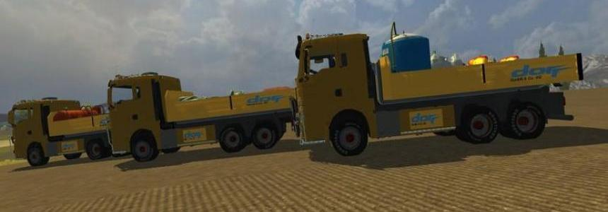 MAN TGX HKL with container v4.0