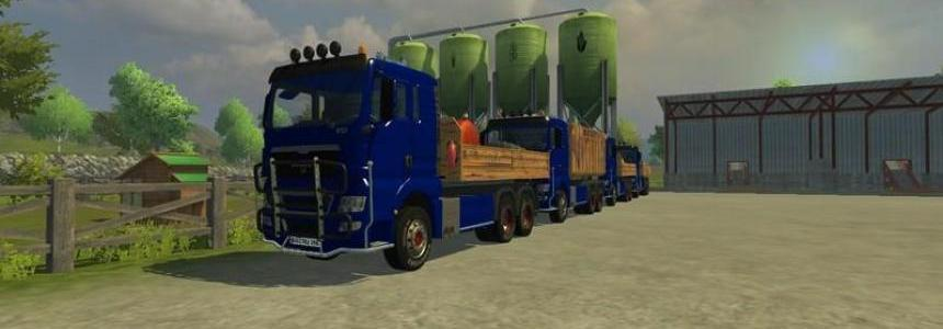 MAN TGX HKL with container v5.0 Rost
