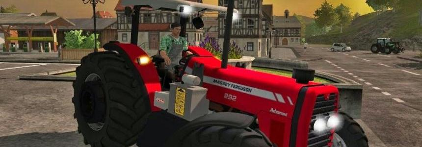 Massey Ferguson 292 FL, 297 Advanced, 299 Advanced v2