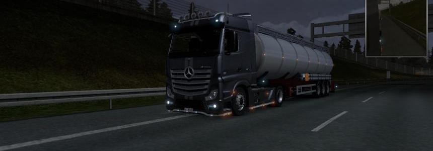 Mercedes Benz Actros V8 Open Loud Pipe Final
