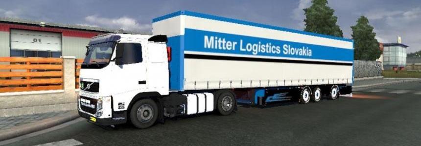Mitter Logistics Slovakia Trailer Skin