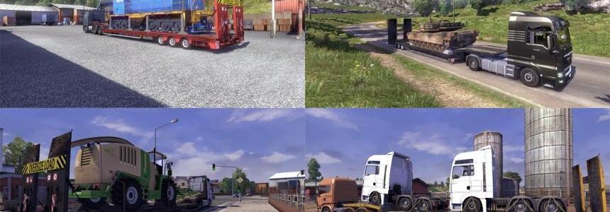 Oversize load trailer 3.2
