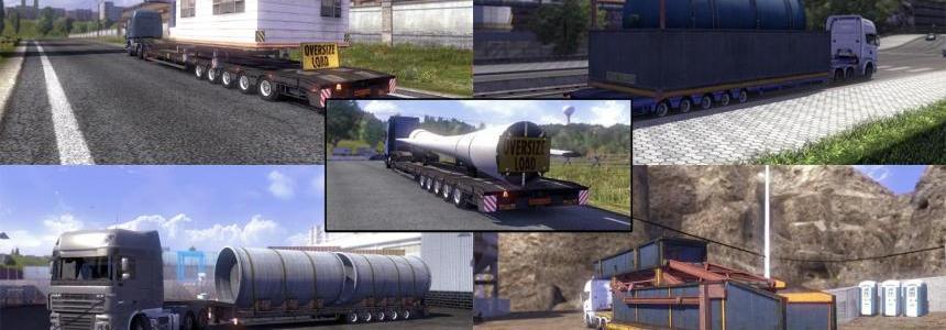 Oversize load trailer v2 3.2