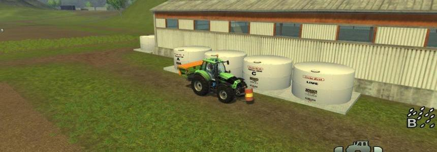 Placeable Soil Mod fert/herbi Tanks - groups