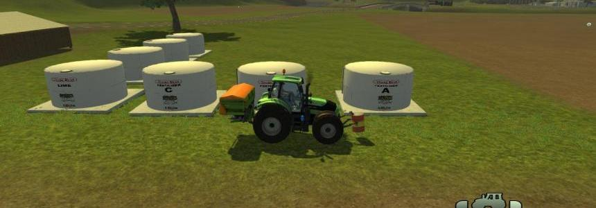 Placeable Soil Mod fert/herbi Tanks - individual