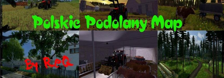 Polskie Podolany Map By ReQ