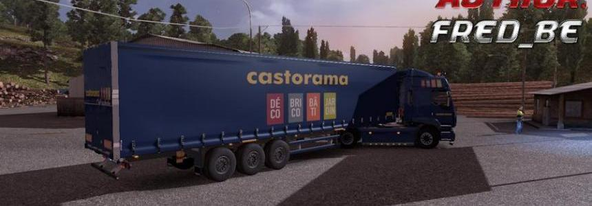 """Renault Premium + Trailer """"Castorama"""""""