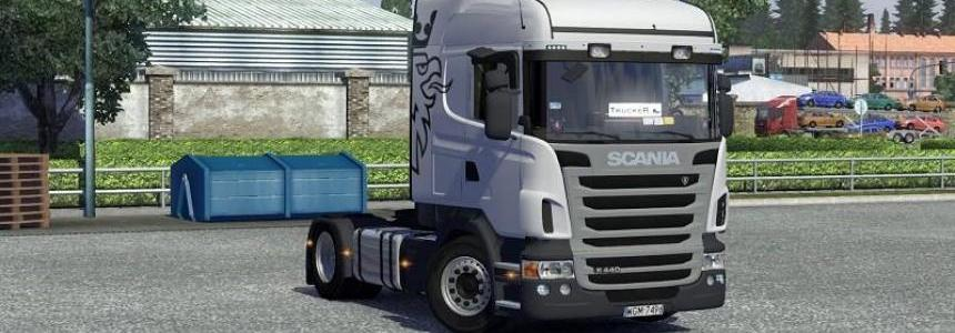 Scania Highline Interior v1.12