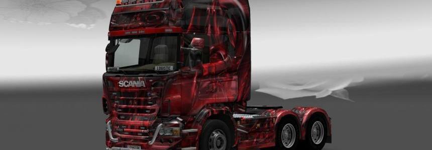 Scania Hintergrund Skin
