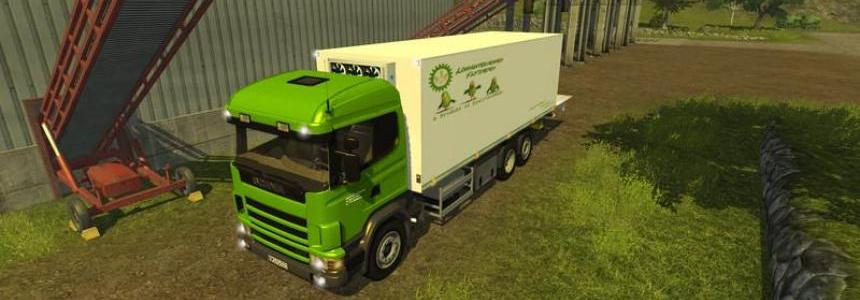 Scania P420 with cooling structure v1.0