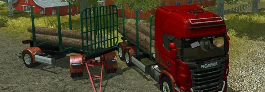 Scania R730 timber v1.0