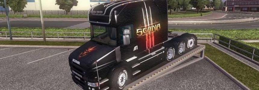Scania T Diablo 3 Skin