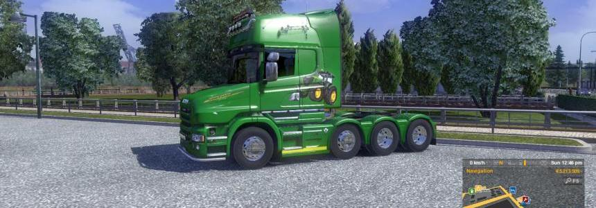 Scania T John Deere skin