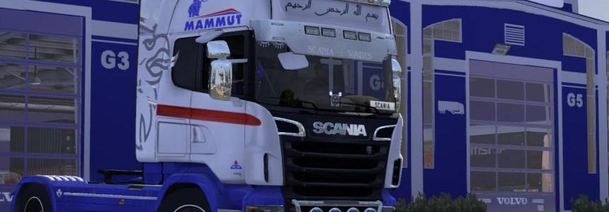 Skin petroleum company for Scania