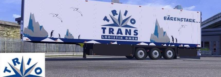 Trio Trans Logistik Trailer Skin