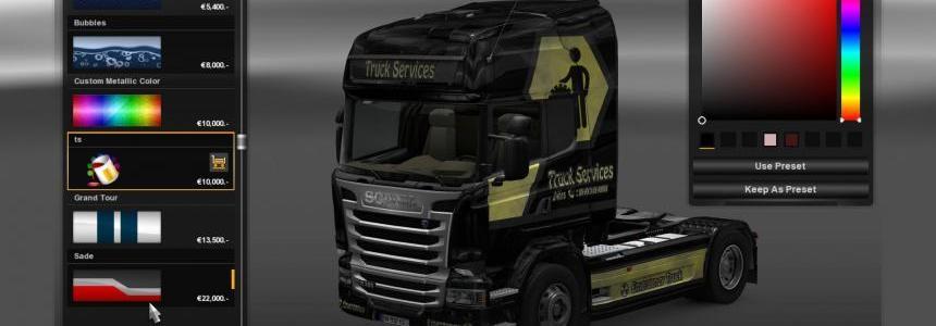 TruckService Skin Combo Pack
