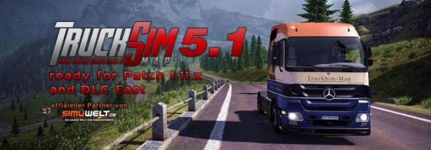 TruckSim Map v5.1.1