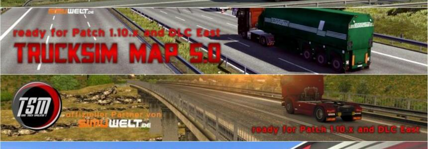 TruckSim Map v5.1