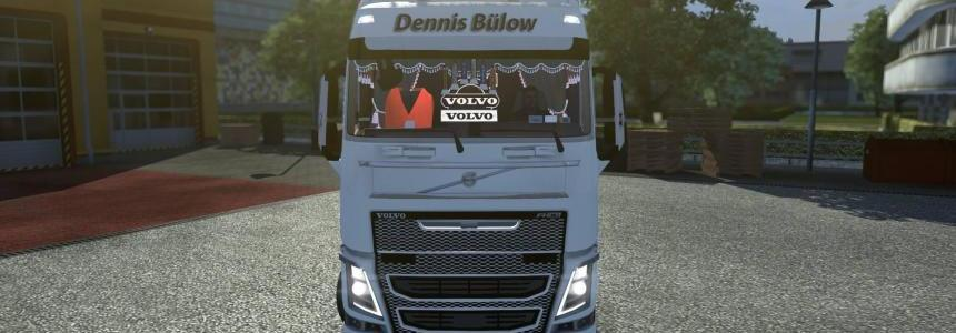 Volvo Danish Showtruck v1.1 Fixed