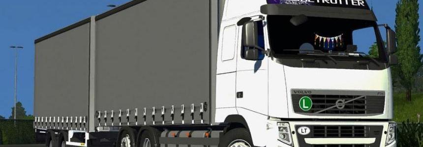 Volvo FH13 Tandem + Trailer LT