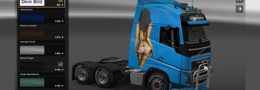 Volvo FH16 2012 Airbrush v1.0