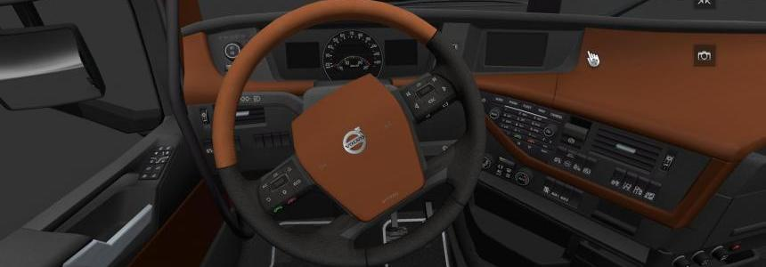 Volvo FH16 2012 Brown Leather Interior