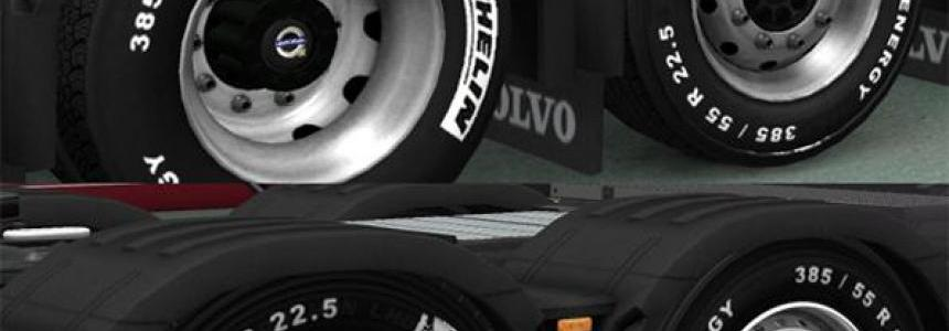 Volvo Michelin Wheels Pack