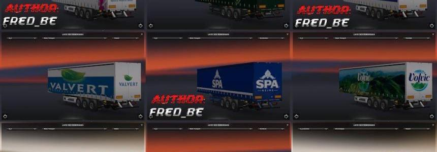 Waters Transport Trailers Pack