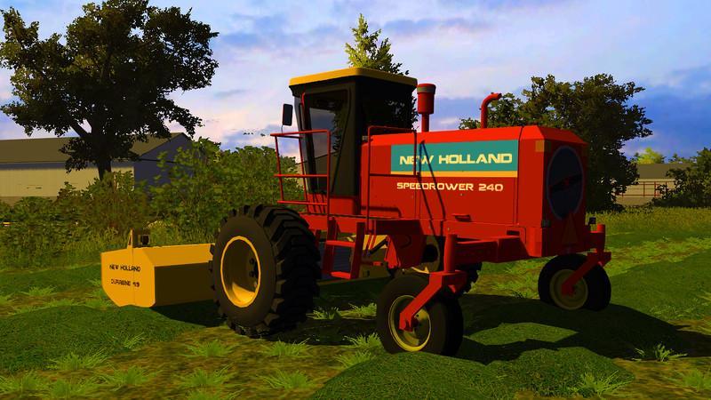 New Holland 240 Speedrower v1.0 - Modhub.us