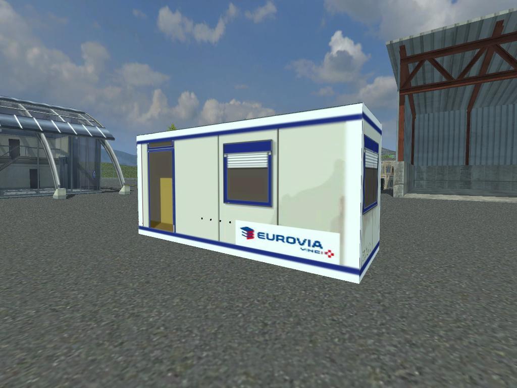 Bungalows tp chariots thermiques porte conteneurs v1 0 for Porte conteneur