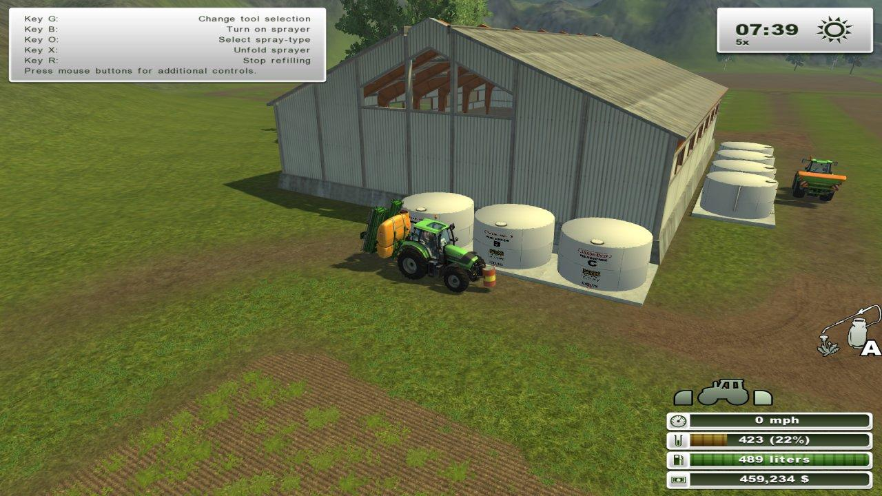 placeable Soil Mod fert/herbi Tanks - groups - Modhub.us