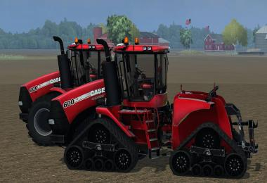 Case Steiger and Quadtrack 600 USA version