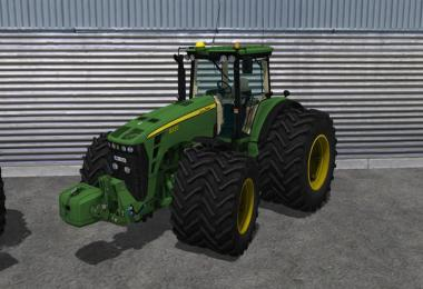 John Deere 8530 Powershift v2.2 MR mit FH