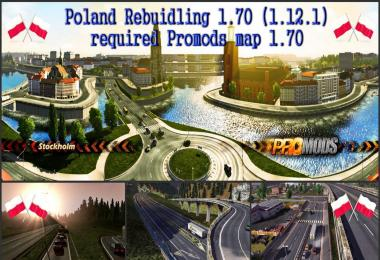 Poland Map Rebuilding v1.70