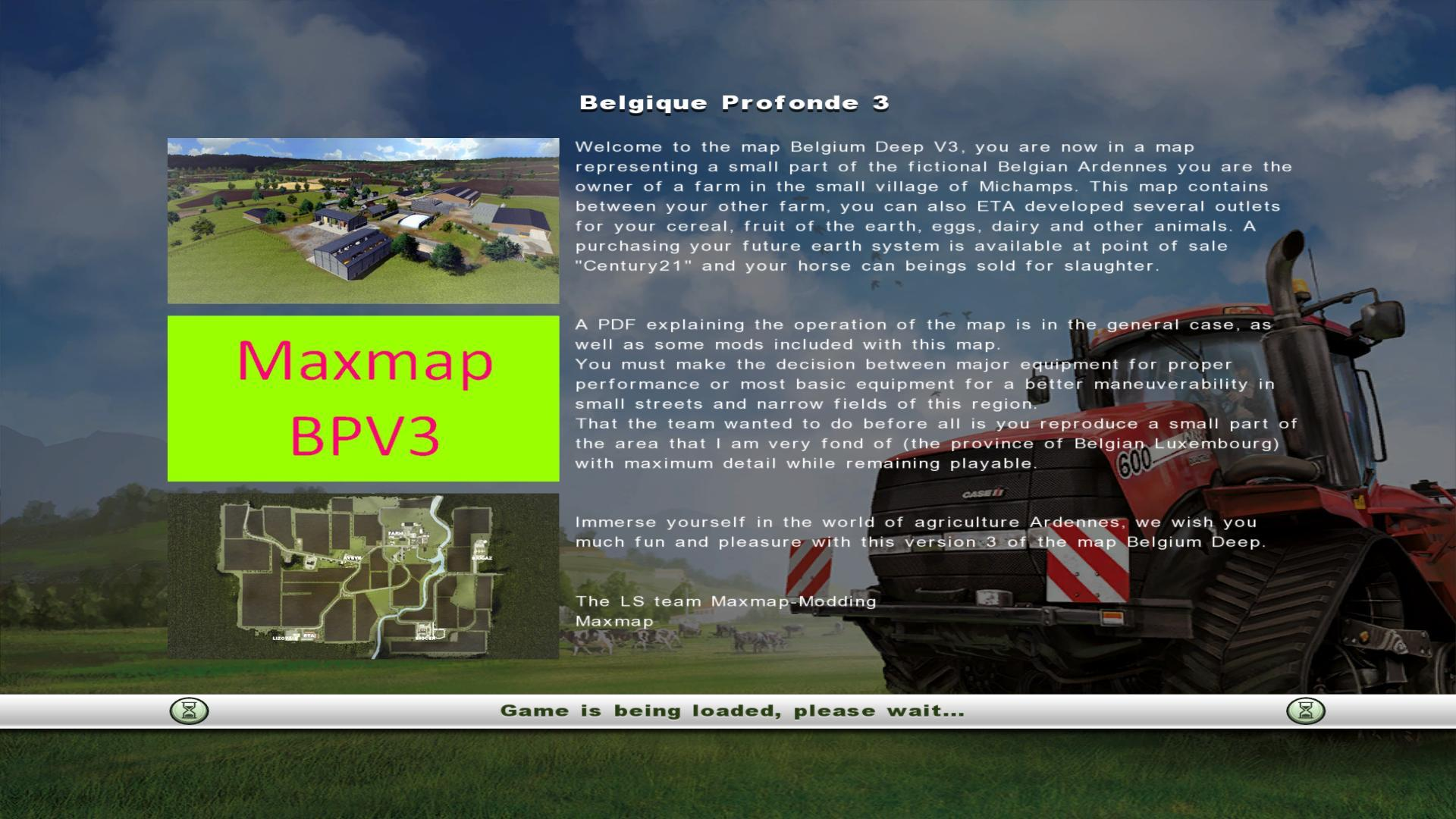 luxfarm ls modding belgique profonde v3 tracteur routier occasion renault. Black Bedroom Furniture Sets. Home Design Ideas